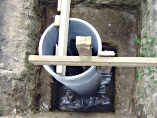 Опорные столбы из труб
