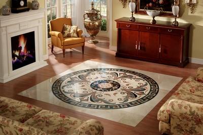 Панно в классическом стиле - отличная замена ковру