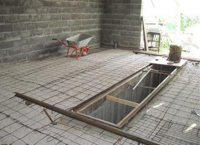 Армирование поверхности сеткой
