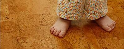 Пробка - отличное покрытие для детской