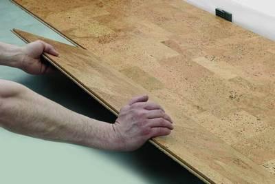 Укладка подобного покрытия мало отличается от монтажа обычного ламината