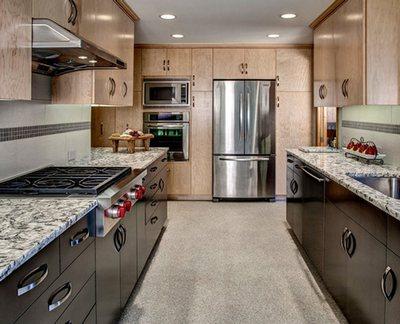 Линолеум - вполне подходящее для кухни покрытие