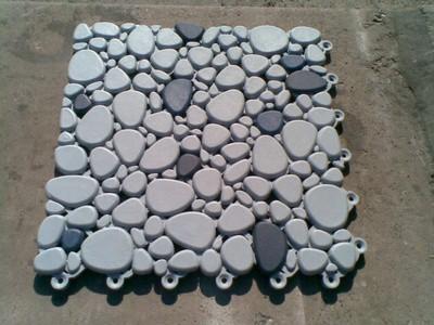 Модуль для покрытия пола на каучуковой основе