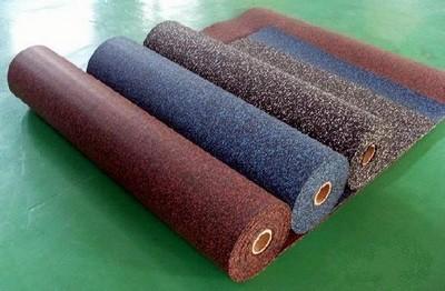 Разнообразие рулонных каучуковых покрытий