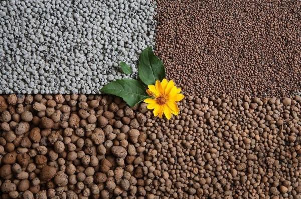 Керамзит различается по составу, размеру и рабочим харктеристикам