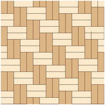 """Схема укладки """"елочкой"""" из плитки двух разных """"текстур древесины"""""""