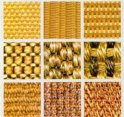 Различные виды плетения сизаля