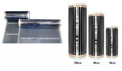 Пленка выпускается рулонами до 50 м длиной, различной ширины