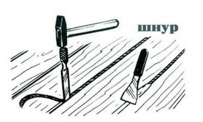 Старый проверенный народный способ - заделывание щелей шнуром