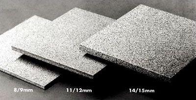 Плитка для полов имеет толщину от 8 мм и больше