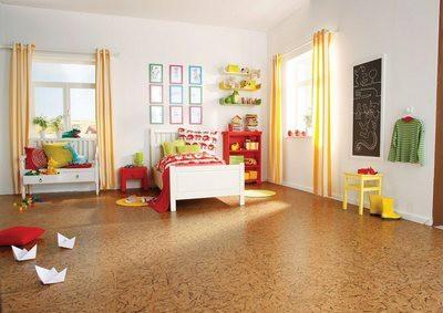 Уют, комфорт, чистота - такими должны быть полы в детской и спальной