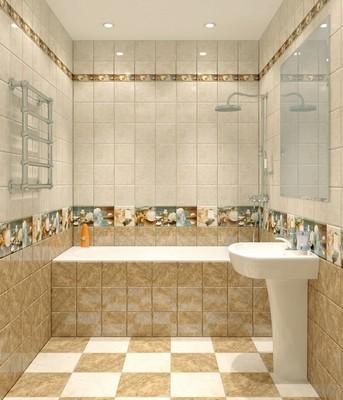Керамическая плитка - идеальное решение для ванных или кухонь