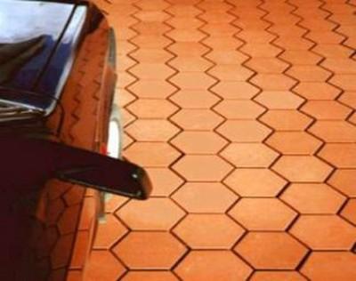 Керамическая плитка - отличное решение вопроса финишного покрытия пола в гараже