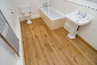 Базовое требование к полам в ванной - влагостойкость