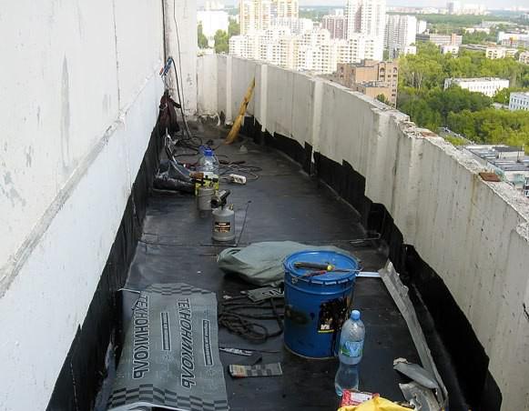 Как сделать гидроизоляцию на балконе..