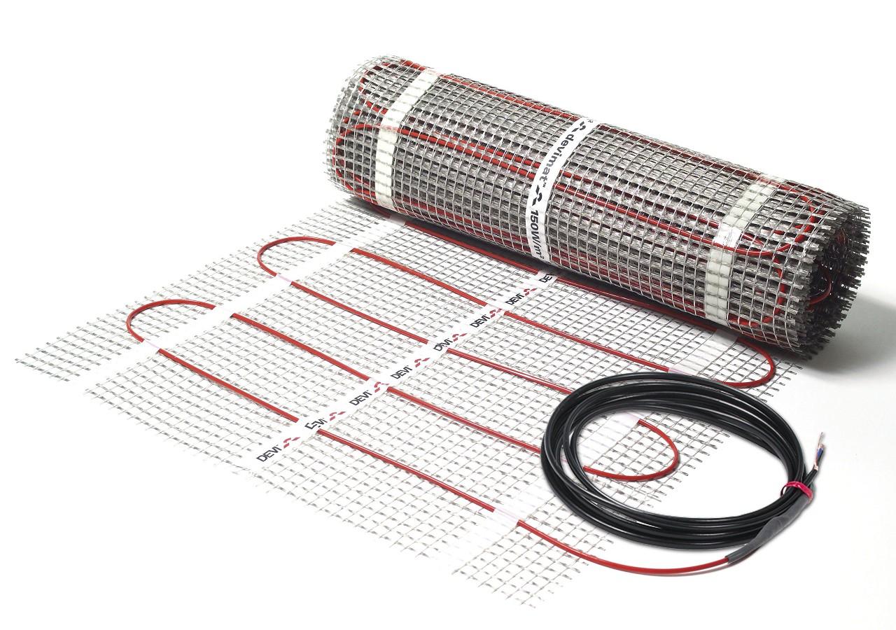 схема подключения теплого мата wirt к терморегулятору