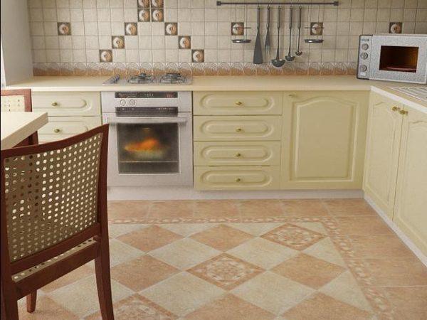 Полы на кухне — какое покрытие выбрать?