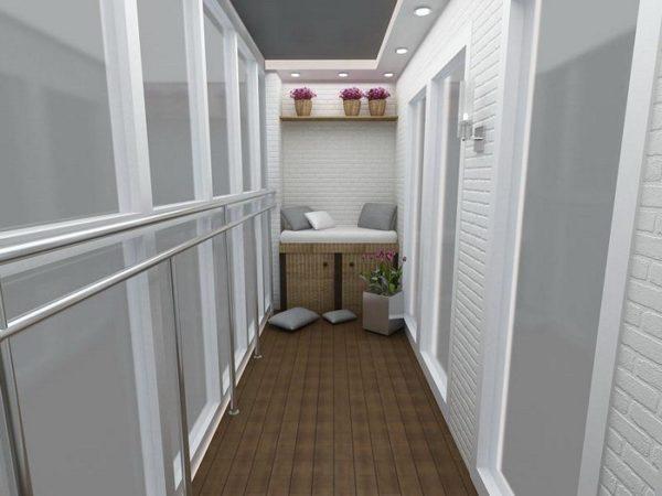 Как положить пол на балконе