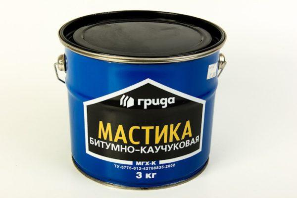 Каучуко-битумная мастика