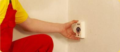 Монтаж терморегулятора лучше выполнить вблизи имеющейся электропроводки