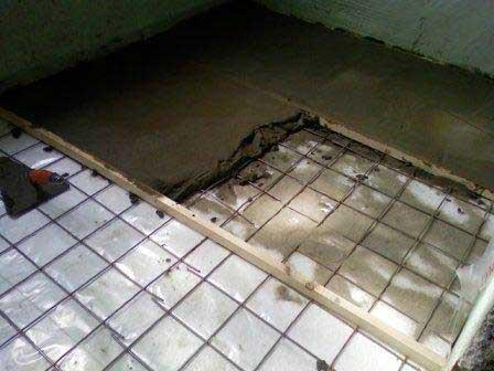 Утепление пенопластом под стяжкой