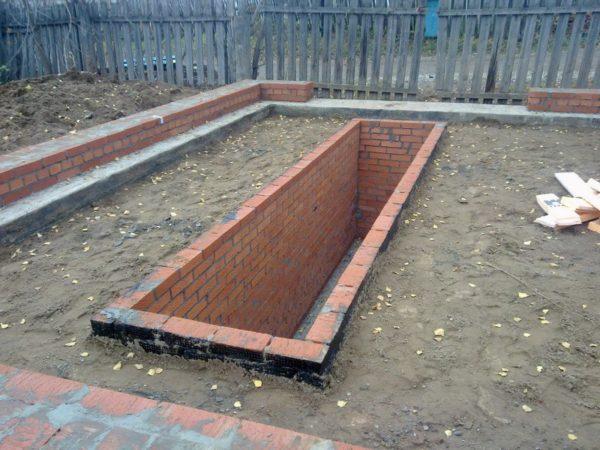 Выемка грунта - подготовка к заливке бетонного пола