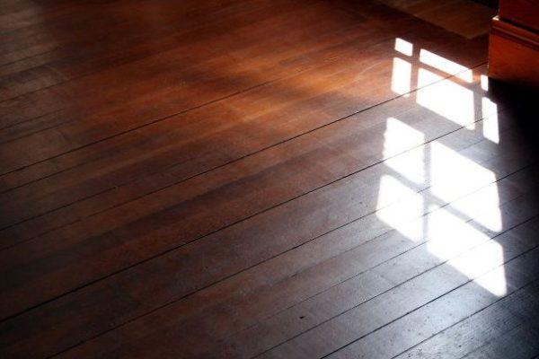 Деревянный пол на лагах в частном доме