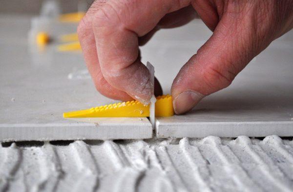 Зазор между плитками - от 3 мм