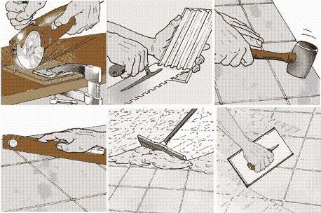 Инструция по укладке плитки