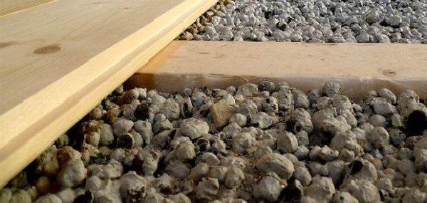 Керамзит для деревянного пола