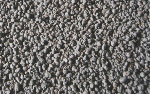 Керамзит залит цементным молочком