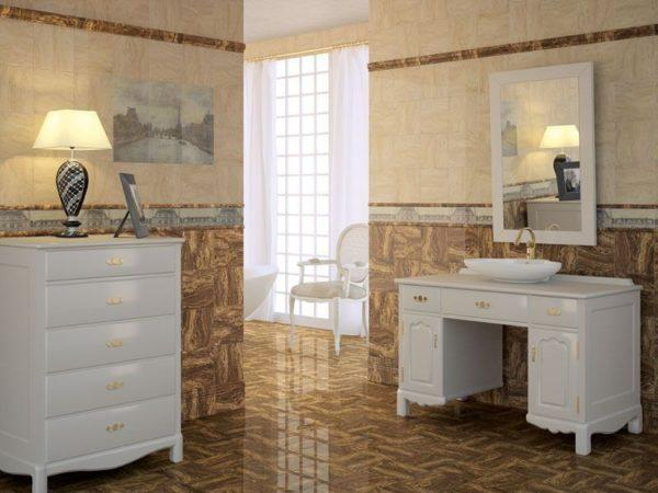 Керамическая плитка Париж Керама Марацци – классика французского стиля