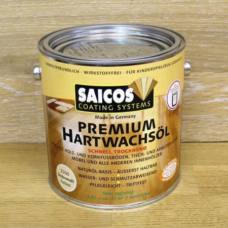 Масло с твердым воском для деревянных полов Saicos