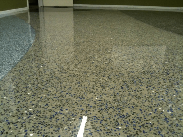 Мозаично - бетонные полы