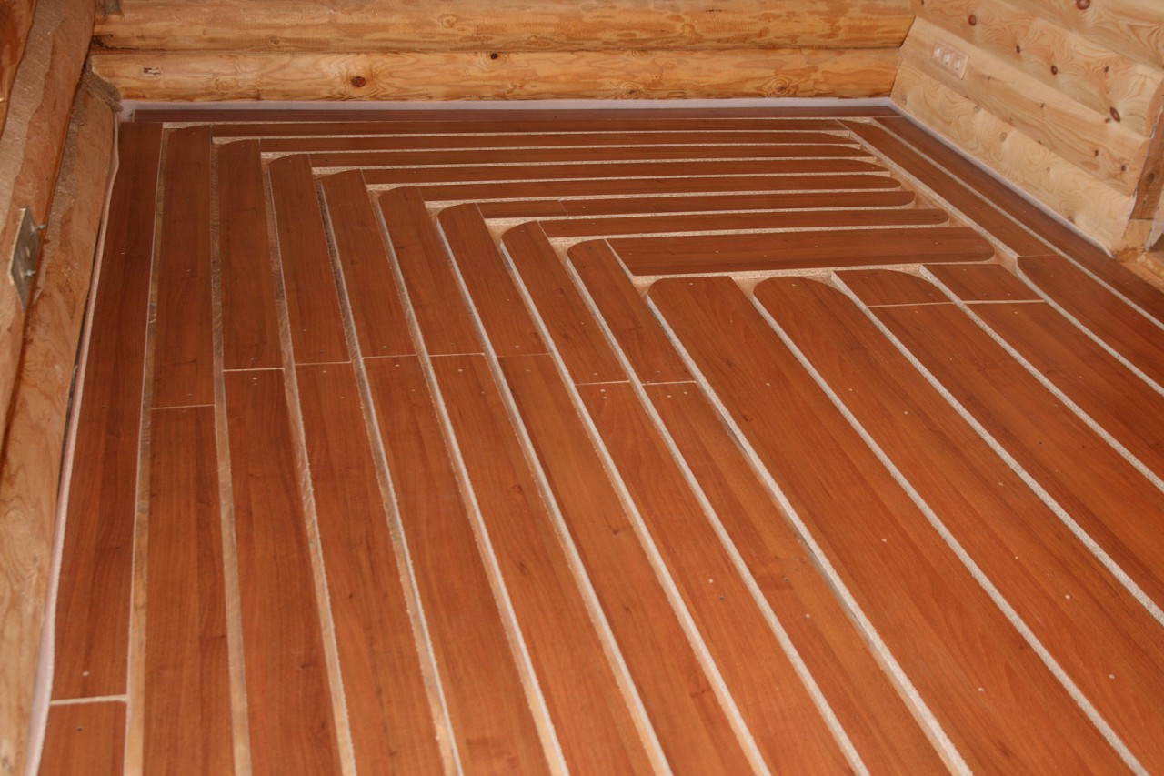 Как сделать водяные тёплые полы в деревянном доме своими руками фото 899