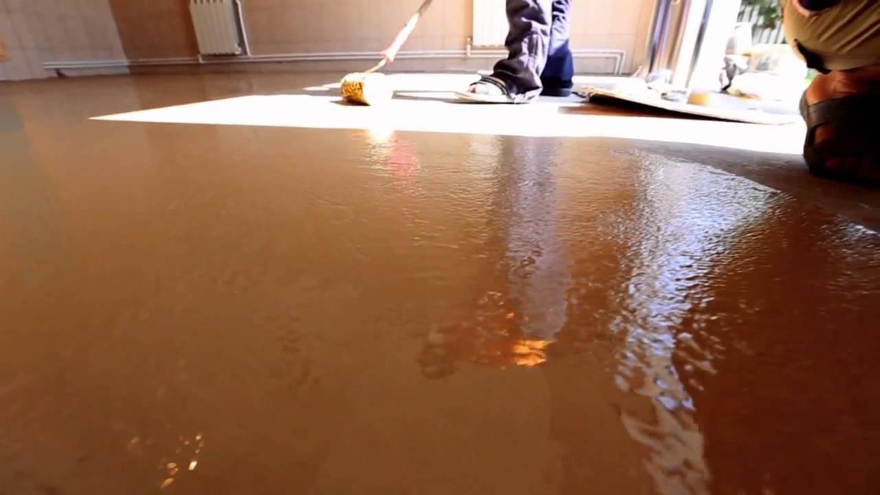 можно ли покрыть бетонный пол жидким стеклом