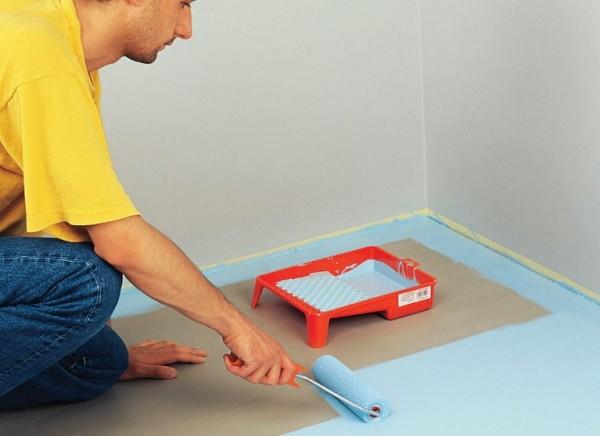 Покраска бетонного пола