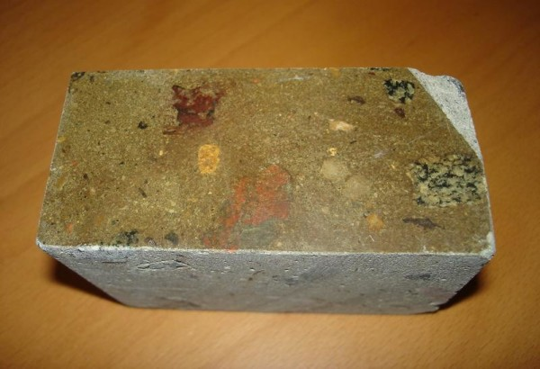 Покрытый топпингом бетон