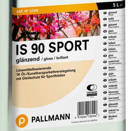 Полиуретановый лак Pallmann IS 90 Sport для деревянного пола