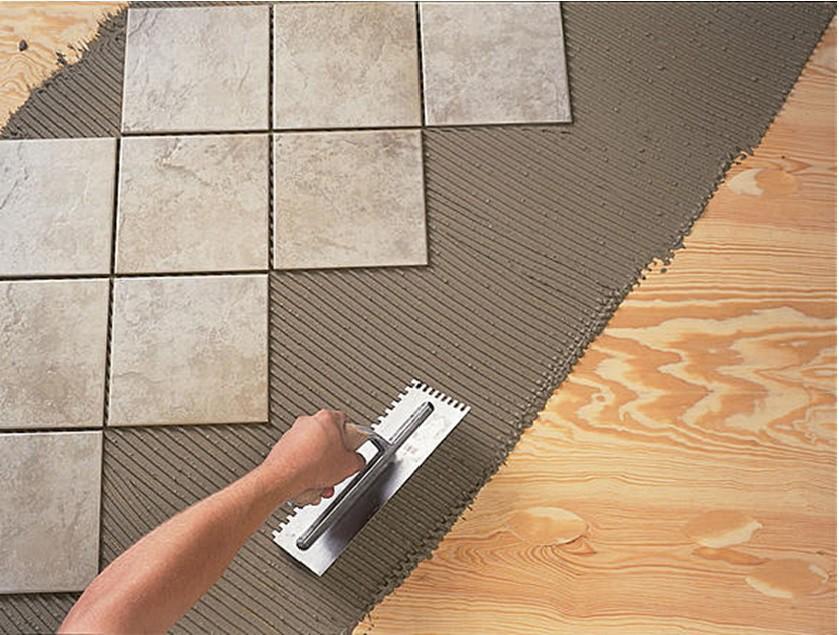 Как самим положить керамогранит прямоугольный на пол