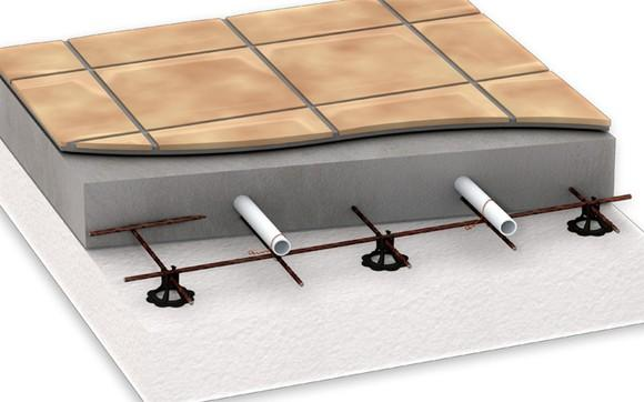 После заливки стяжки пользоваться теплым полом можно через 28 дней