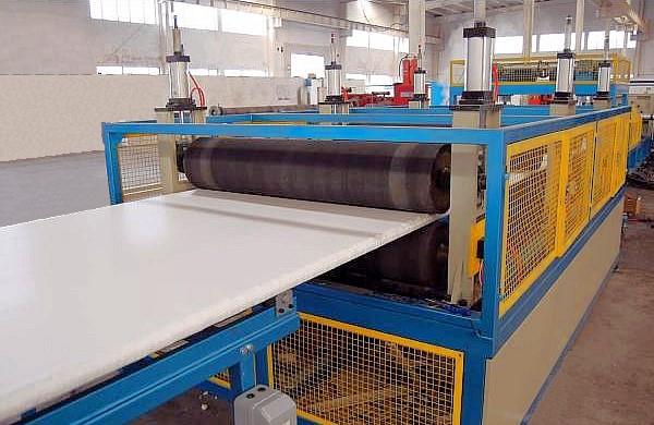 Производственная линия для изготовления экструдированного пенополистирола