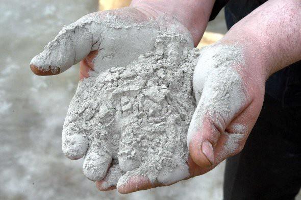 Просеиваем цемент