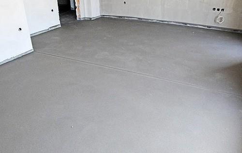 Разновидности бетонной стяжки