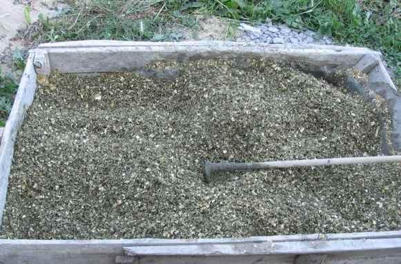 Смесь из опилок, цемента и извести можно применять в качестве утеплителя
