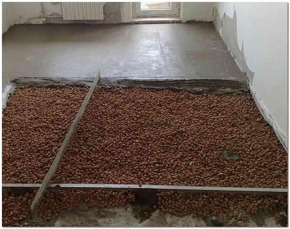 Заливка пола керамзитобетоном своими руками в частном доме впк бетон