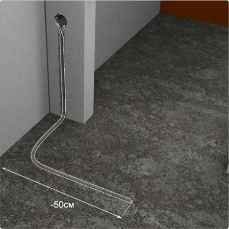 Схема прокладки проводов в гофре