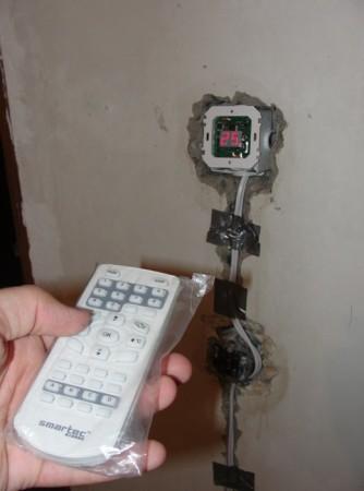 Установка терморегулятора