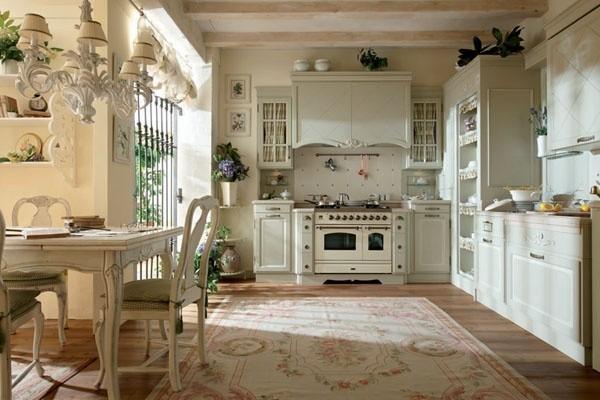 Французский стиль в интерьере кухни