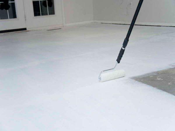 Краска для бетонного пола - как выбрать и какая лучше